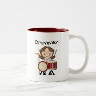 Batería - camisetas y regalos femeninos taza de café