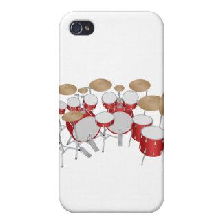 Batería de 10 pedazos: caso del iPhone 4 iPhone 4 Carcasas