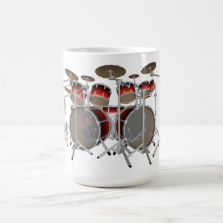 Batería de 10 pedazos Pendiente roja Taza de caf