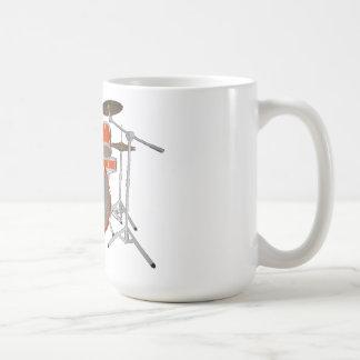 Batería de 5 pedazos - naranja - taza de café - si
