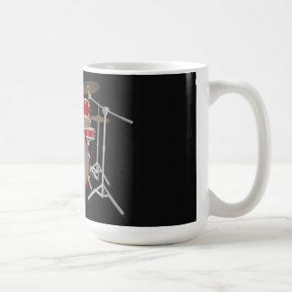 Batería de 5 pedazos - rojo - taza de café - siste