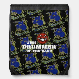 batería de la banda mochilas
