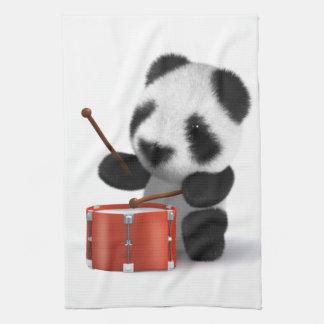 batería de la panda del bebé 3d toalla