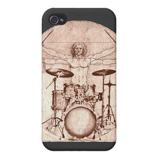 Batería de Vitruvian iPhone 4/4S Funda