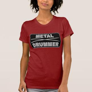 Batería del metal - señoras T Camisetas