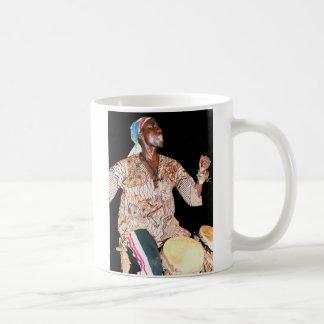 Batería gambiano taza de café