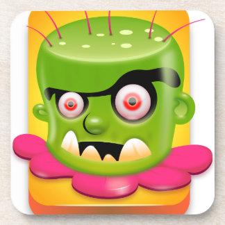 Bateria monster drink coaster