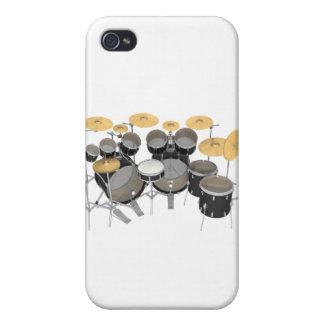 Batería negra: 10 pedazos: iPhone 4/4S fundas
