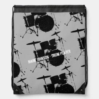 batería personalizado mochila