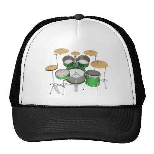 Batería verde: gorras