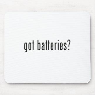 ¿baterías conseguidas? alfombrillas de ratón
