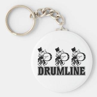 Baterías de Drumline Llavero