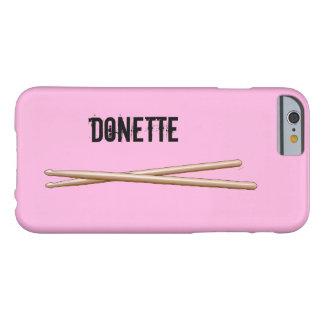 Baterías del caso del iphone de los palillos su funda de iPhone 6 barely there