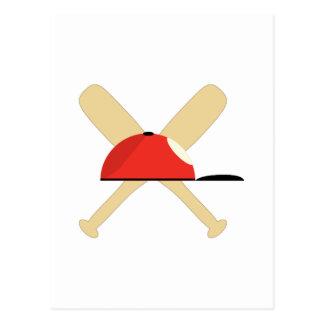 Bates de béisbol postal