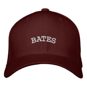 0b28807fbfcf3 BATES EMBROIDERED BASEBALL HAT