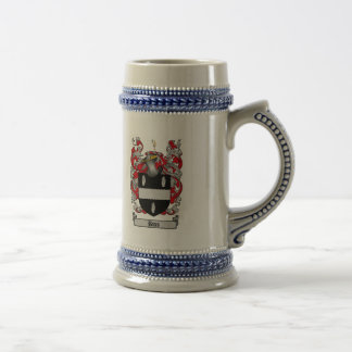 BATES FAMILY CREST -  BATES COAT OF ARMS BEER STEIN