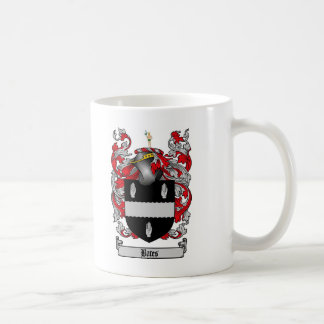 BATES FAMILY CREST -  BATES COAT OF ARMS COFFEE MUG