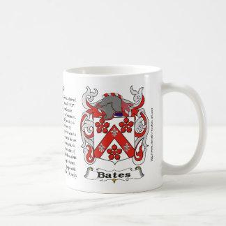 Bates Family Crest Mug