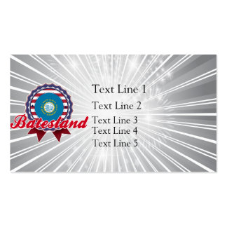 Batesland, SD Double-Sided Standard Business Cards (Pack Of 100)