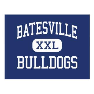 Batesville - Bulldogs - High - Batesville Indiana Post Card