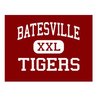 Batesville - tigres - centro - Batesville Tarjeta Postal