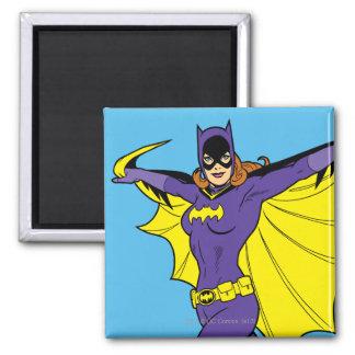 Batgirl 2 Inch Square Magnet