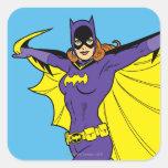 Batgirl Colcomanias Cuadradas