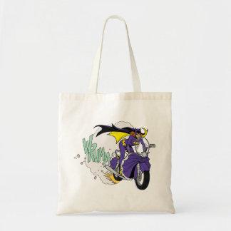 Batgirl Cycle Tote Bags