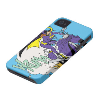 Batgirl Cycle iPhone 4 Case-Mate Case