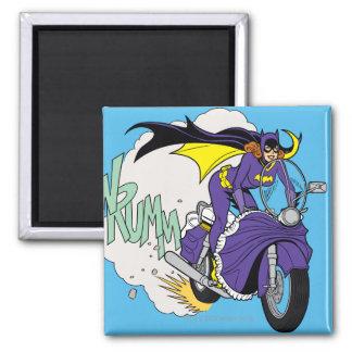 Batgirl Cycle Magnet