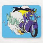 Batgirl Cycle Mouse Pad