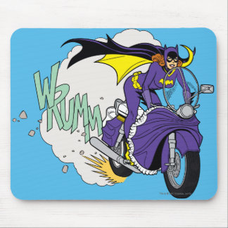 Batgirl Cycle Mouse Pad