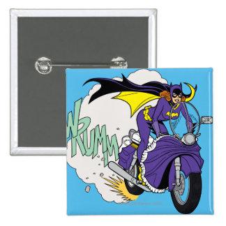 Batgirl Cycle Pinback Button