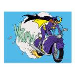 Batgirl Cycle Postcard