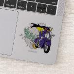 Batgirl Cycle Sticker