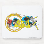 Batgirl Display Mouse Pad