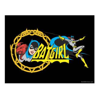 Batgirl Display Postcard