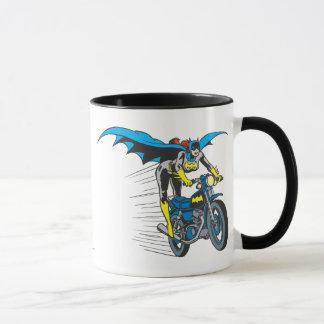 Batgirl en Batcycle