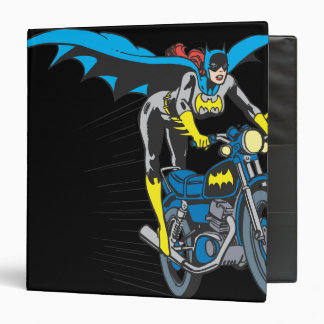"Batgirl en Batcycle Carpeta 1 1/2"""