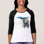 Batgirl en Batcycle Poleras