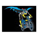 Batgirl en Batcycle Postales