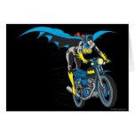 Batgirl en Batcycle Tarjeta De Felicitación