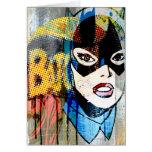 Batgirl Head Card