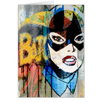 Batgirl Head Card