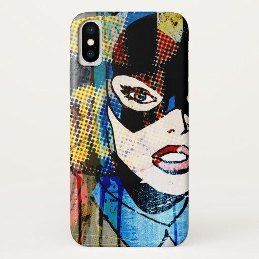 Batgirl Head iPhone X Case