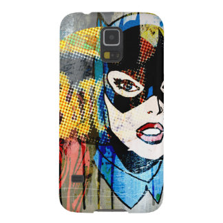 Batgirl Head Galaxy S5 Case