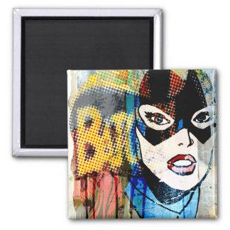 Batgirl Head Magnet