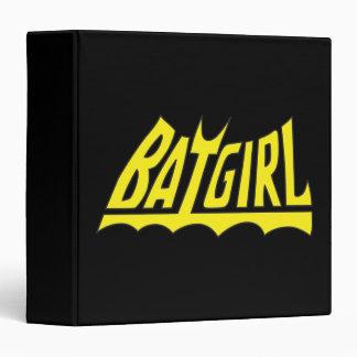 Batgirl Logo 3 Ring Binder