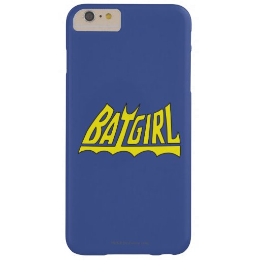 Batgirl Logo Barely There iPhone 6 Plus Case