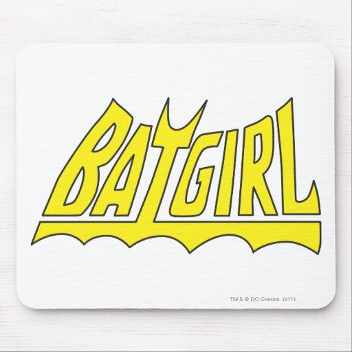 Batgirl Logo Mouse Pad